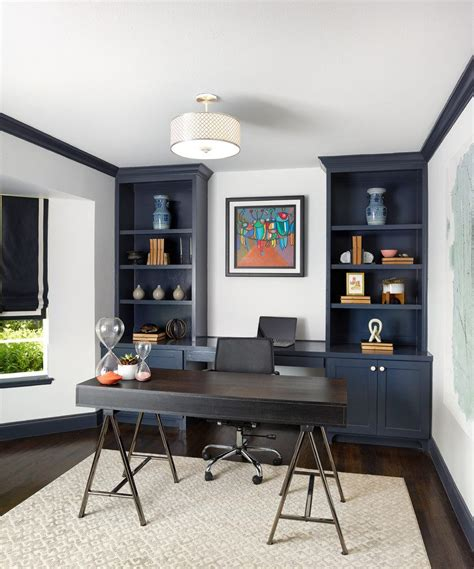 Splendid Built in Bookshelves with Desk Home Office ...