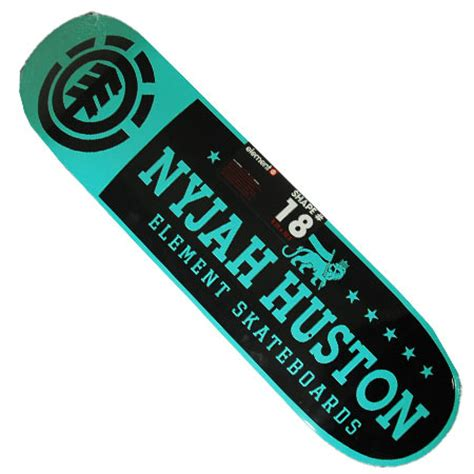 element nyjah huston pride deck in stock at spot skate shop