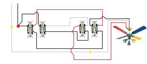 ceiling fan switch wiring diagram wiring a ceiling fan with two switches diagram 46 wiring
