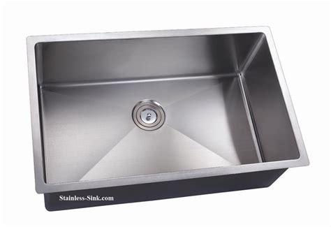 Belmont 32 Quot Stainless Steel Undermount Sink Single Bowl