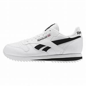 Reebok Classic Leather Ripple Low BP White Black Shoe ...