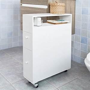 Petit Meuble A Roulette : meubles de bain salle de bain ~ Teatrodelosmanantiales.com Idées de Décoration