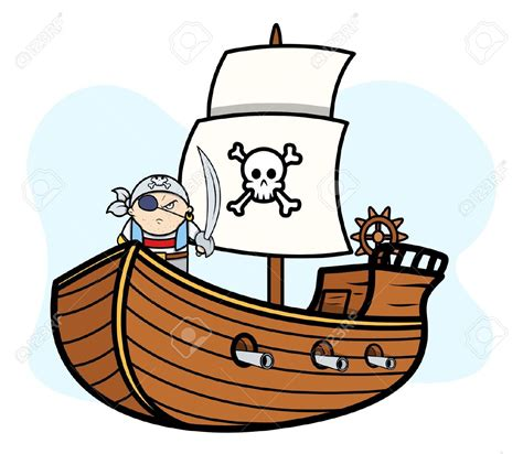 Ship Cartoon by Sailing Ship Clipart Pirate The Caribbean Pencil And In