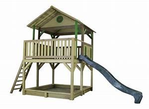 Kinder Spielturm Garten : holz kinder spielturm hohes offen stelzen spielhaus rutsche sandkiste farbig vom garten ~ Whattoseeinmadrid.com Haus und Dekorationen