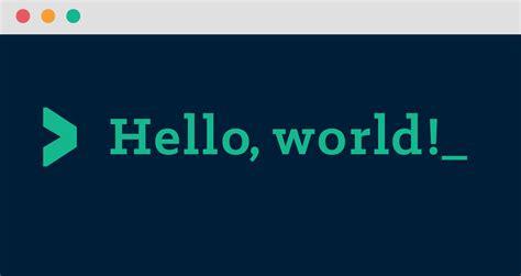 Wikipedia Hello World Graphic.svg