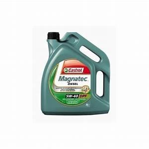 Huile 5w40 Diesel Leclerc : huile moteur castrol magnatec 5w40 dpf diesel 5 l ~ Dailycaller-alerts.com Idées de Décoration