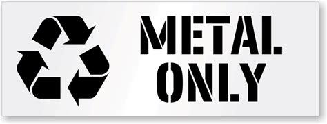Scrap Metal Signs
