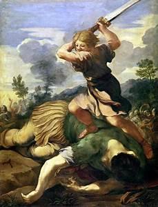 David killing Goliath Painting | Pietro da Cortona Oil ...