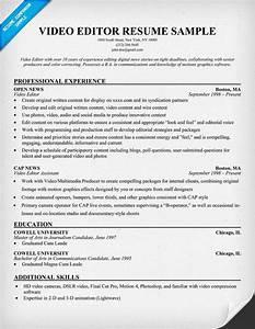 free video editor resume example resumecompanioncom With upload and edit resume