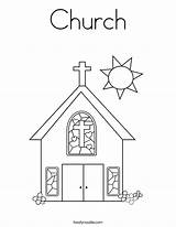 Church Coloring Noodle Twistynoodle Pages Printable Activity Christ Jesus Sunday Twisty Welcome Communion Built California Usa Go sketch template
