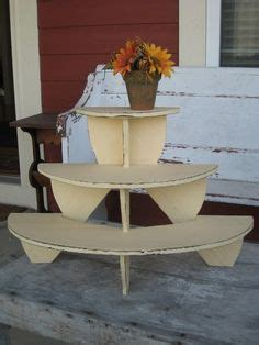 diy tiered plant stand woodworking projects plans