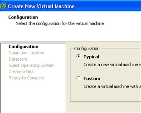 Vmware How To Create Virtual Machine And Install Guest Os Using Vsphere Client