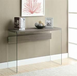 Console Entrée Design : console en verre 50 id es de d coration d 39 int rieur ~ Premium-room.com Idées de Décoration