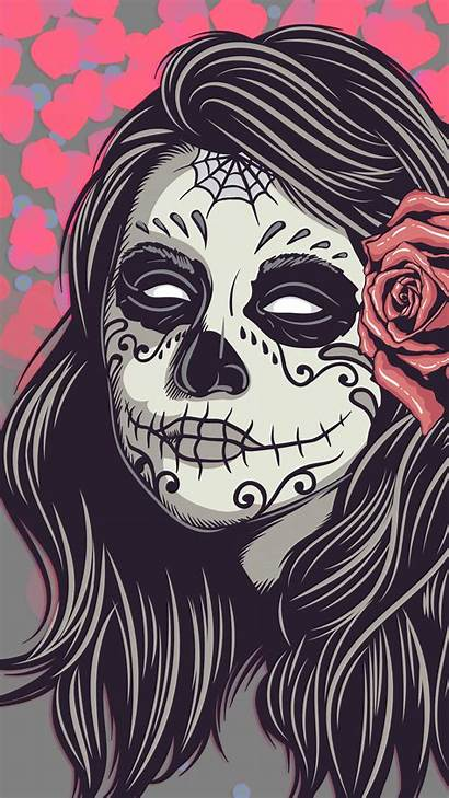 Skull Mexican Wallpapers Phone Mobile Aesthetic Phones