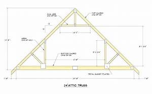 Attic trusses attic truss 28 attic truss cost ladyroomclub for 40 ft trusses for sale