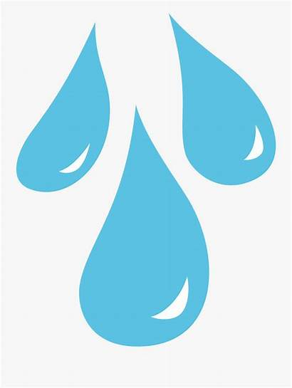 Clip Drop Water Rain Drops Droplets Clipart