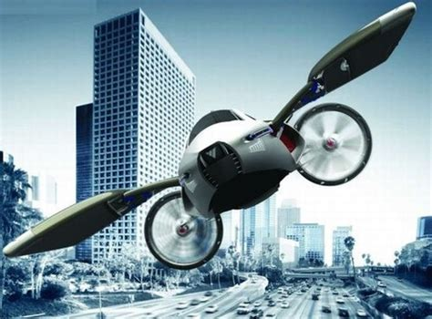 Future Transportation Flying Cars