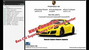 Porsche 911 Carrera 911 991 997 996 Workshop Repair Manual  Wiring Diagram   Owners Manual