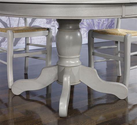 table ronde 90 cm pied central table ronde pied central en ch 234 ne massif de style louis philippe diametre 120 2 allonges de 40