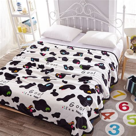 Cowhide Bedding Sets by Black And White Cowhide Bedding Set 4pcs Duvet Cover