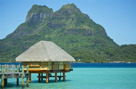 Bucket List Goals Overwater Bungalow Holiday In Tahiti