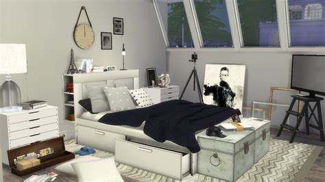 sims  speed build male room youtube
