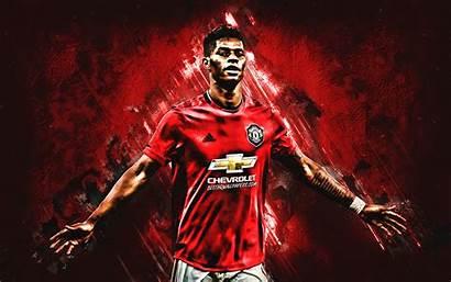 Rashford Manchester United Marcus Football Portrait Player