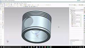 Unigraphics Nx  Piston Of Radial Engine Modeling