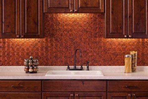 kitchen copper backsplash 10 copper backsplash ideas that add glitter and glam to 3413