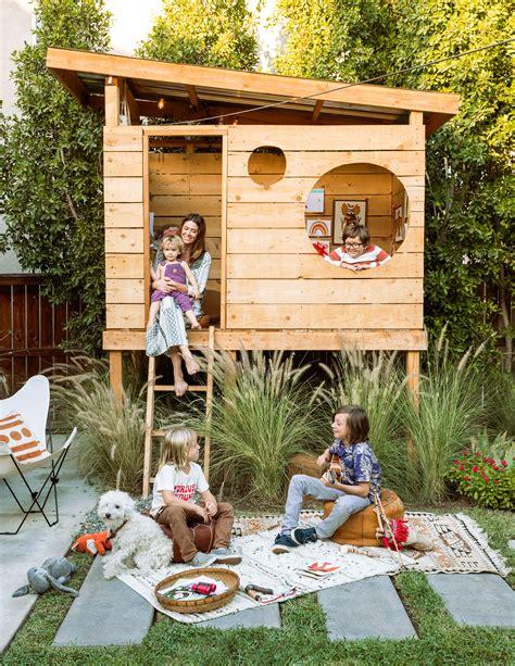 Backyard Forts by Awesome Backyard Ideas For Sunset Sunset Magazine