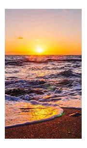 1920x1080 Waves Beach Sunset 5k Laptop Full HD 1080P HD 4k ...