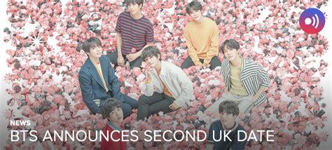 [NEWS] BTS add second UK tour date — UnitedKpop