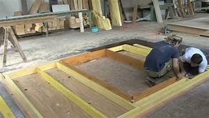 Construire Un établi En Bois : la construction d 39 un chalet en bois youtube ~ Premium-room.com Idées de Décoration