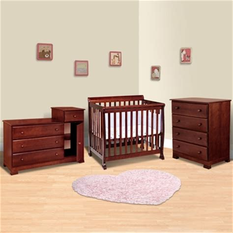 da vinci 3 nursery set kalani mini crib 4 drawer