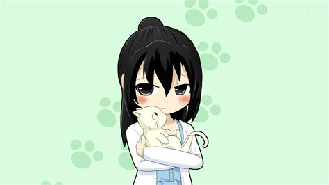 Anime Kitten Wallpaper - anime animals wallpaper 63 images