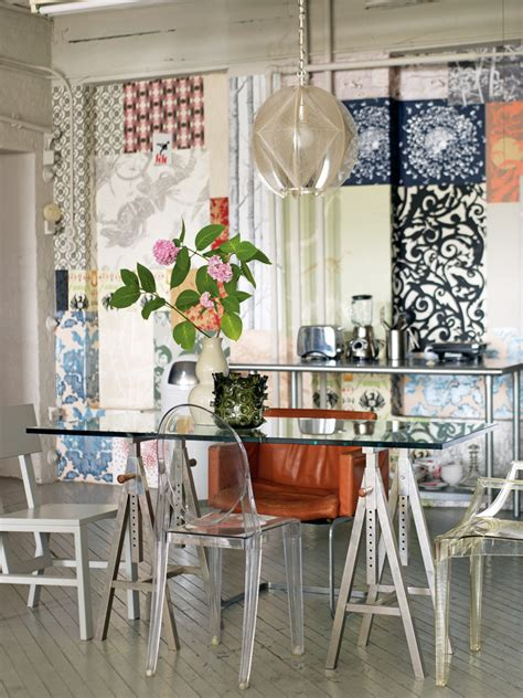 shabby chic dining room table decorations collage ideas for wall dining room shabby chic style with glass dining table ghost chair