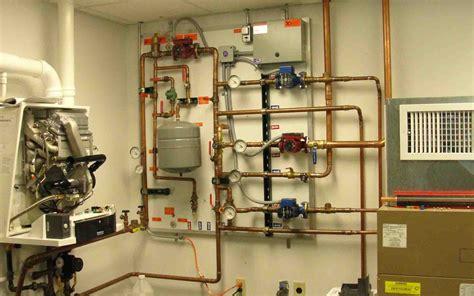radiant heat manifold  zone valves hydronic snowmelt
