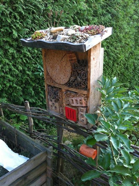 insektenhotel selber machen insektenhotel selber bauen