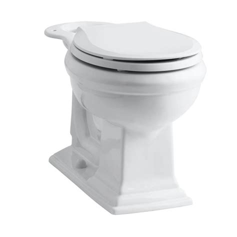 shop kohler memoirs chair height white 12 in