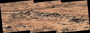 Curiosity Rover Recons Rocky Base of Mars Mountain (Photos)