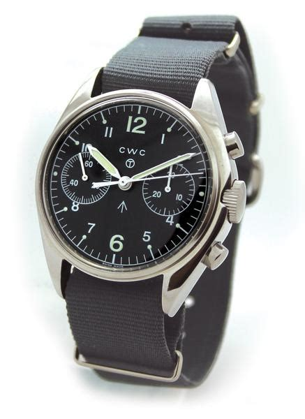 cwc chronograph issue pilot watches military 1970s raf reissue cabot pilots re spec