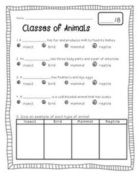 animal classification activity worksheets animal