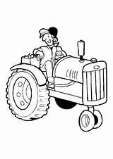 Tractor Coloring Ausmalbilder Traktor Trecker Farmer Sheets Baufahrzeug Momjunction Letzte Seite sketch template