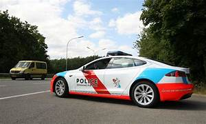 Tesla cars used by Luxembourg police to help catch criminals