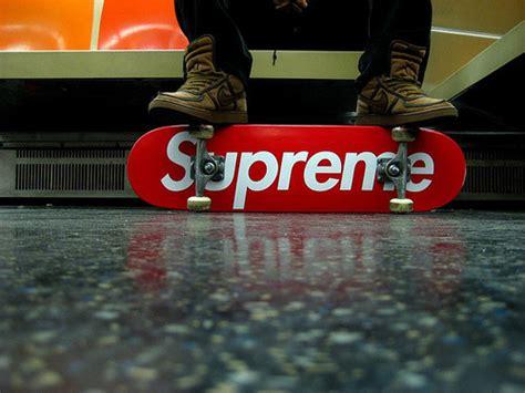 Supreme Skateboarding Supreme Swag