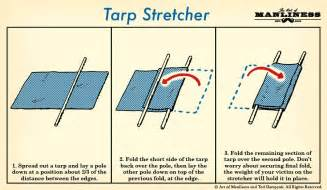 How to Make an Improvised Stretcher