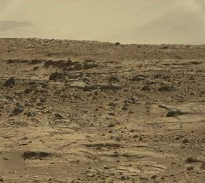 NASA Curiosity Rover Photo Of Mouse On Mars Surface ...