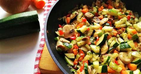 Receta de verduras salteadas | Recetas Fáciles Reunidas