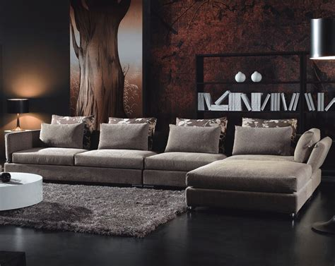 Contemporary Living Room Furniture Adding Style In