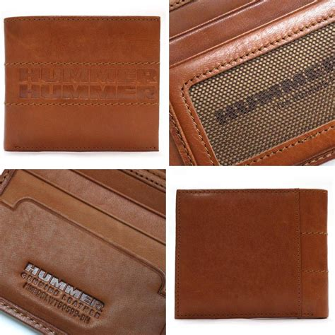 hummer leather wallet  colors